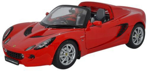 WELLY Lotus Elise RH Drive Red - 1:18 Scale