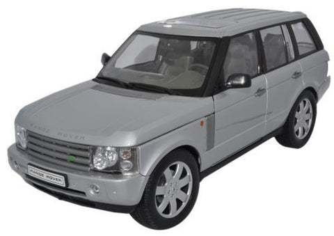 WELLY Range Rover Silver - 1:18 Scale