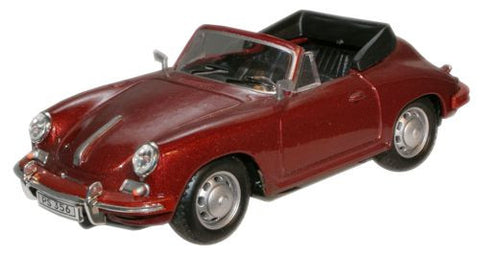 CARARAMA Porsche 356 Brown - 1:43 Scale - OxfordDiecast
