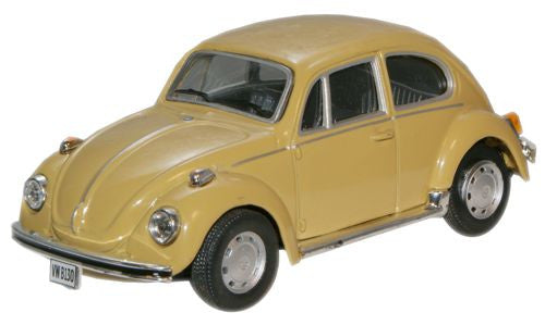 CARARAMA VW Beetle Mustard Yellow - 1:43 Scale - OxfordDiecast