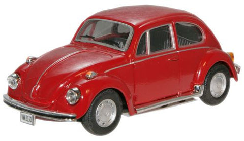 CARARAMA VW Beetle Red - 1:43 Scale - OxfordDiecast