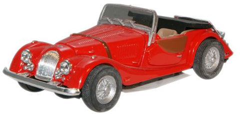 CARARAMA Morgan Plus Eight Red - 1:43 Scale - OxfordDiecast