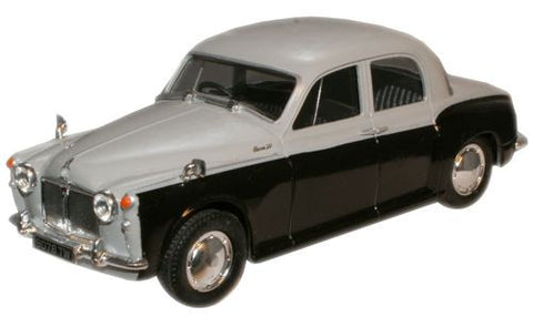 CARARAMA Rover 90 Silver Grey/ Black - 1:43 Scale - OxfordDiecast