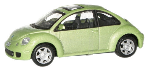 CARARAMA 1:43 VW New Beetle Apple Green - 1:43 Scale - OxfordDiecast