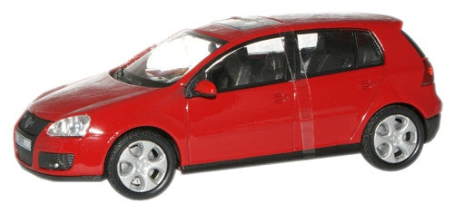 CARARAMA 1:43 VW Golf GTI  Red - 1:43 Scale - OxfordDiecast