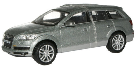 CARARAMA 1:43 Audi  Q7 Metallic Grey - 1:43 Scale - OxfordDiecast