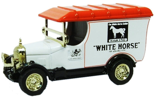 Oxford Diecast White Horse - 1:76 Scale