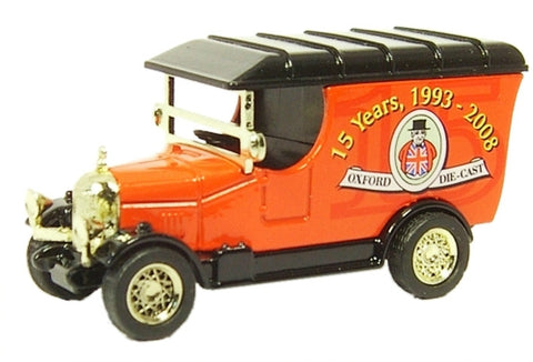 Oxford Diecast 15th Anniversary Bullnose Morris - 1:76 Scale - OxfordDiecast