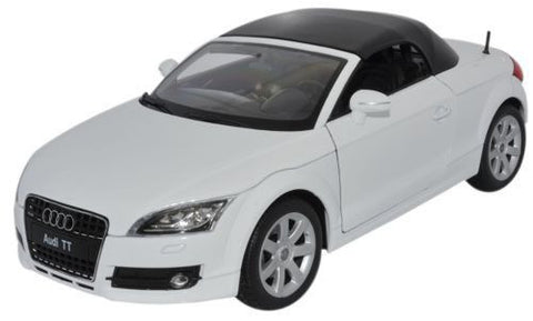 WELLY Audi TT Roadster White - 1:18 Scale