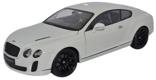 WELLY Bentley Continental White - 1:18 Scale