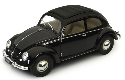 WELLY Volkswagen Classic Beetle Black - 1:18 Scale