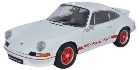 WELLY Porsche Carrera White - 1:18 Scale