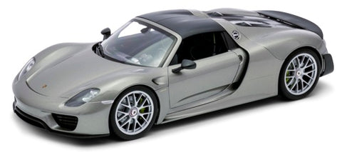 Welly Porsche 918 Spyder Grey - Weissach Version