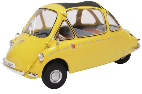 Oxford Diecast Heinkel Kabine Yellow