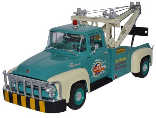WELLY Ford F100 Tow Truck - 1:18 Scale