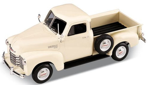WELLY Chevrolet 3100 Pick Up Cream - 1:18 Scale