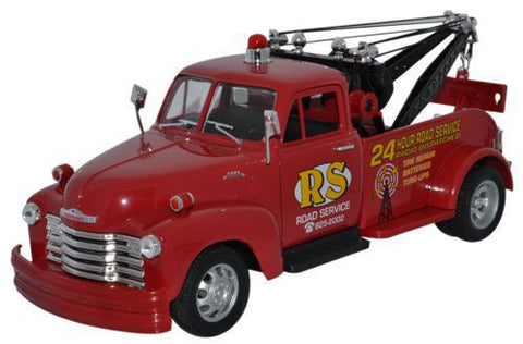 WELLY Chevrolet Tow Truck - 1:24 Scale