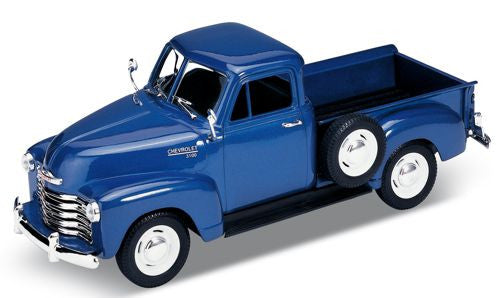 WELLY Chevrolet 3100 Pick Up Blue - 1:24 Scale