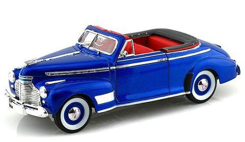 WELLY Chevrolet Special Deluxe 1941 Blue - 1:24 Scale