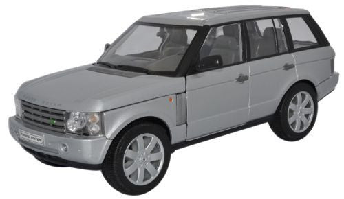 WELLY Range Rover Silver - 1:24 Scale