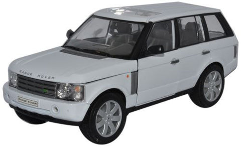 WELLY Range Rover White - 1:24 Scale