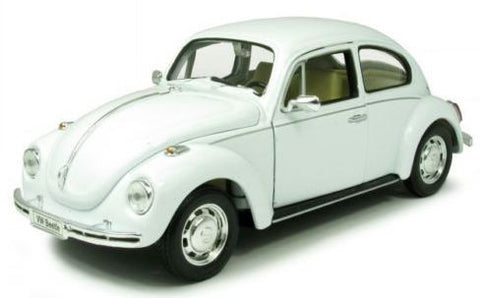 WELLY VW Beetle Hard Top White - 1:24 Scale