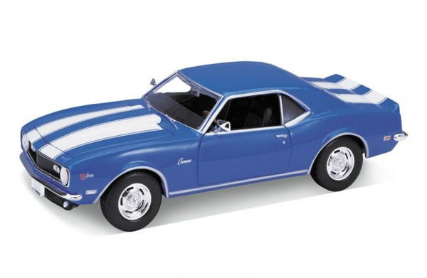 WELLY Chevrolet Camaro Blue - 1:24 Scale