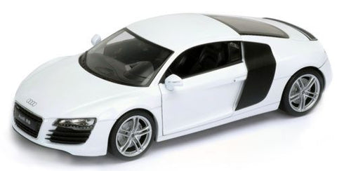 WELLY Audi R8 White - 1:24 Scale