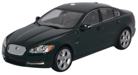WELLY Jaguar XF Green - 1:24 Scale