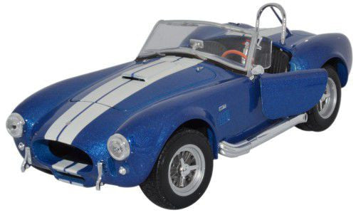 WELLY Shelby Cobra 427 1965 Blue - 1:24 Scale