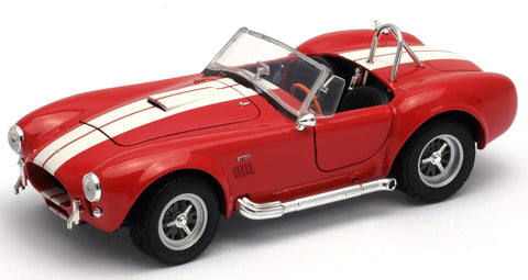 WELLY Shelby Cobra Red - 1:24 Scale
