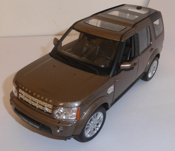 WELLY Land Rover Discovery Brown - 1:24 Scale