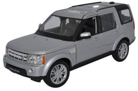 WELLY Land Rover Discovery Silver - 1:24 Scale