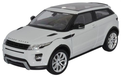 WELLY Land Rover Evoque White - 1:24 Scale
