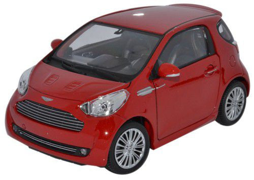 WELLY Aston Martin Cygnet Red - 1:24 Scale