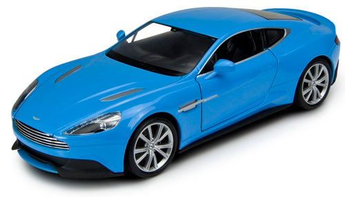 Welly Aston Martin Vanquish Blue