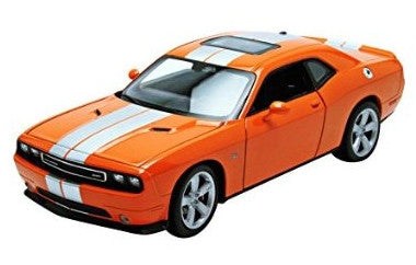 WELLY Dodge Challenger Orange - 1:24 Scale