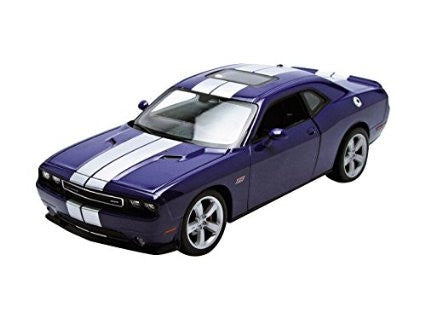 WELLY Dodge Challenger Purple - 1:24 Scale