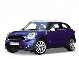 WELLY Mini Cooper S Paceman Blue - 1:24 Scale