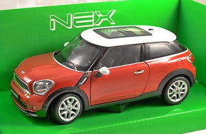 WELLY Mini Cooper S Paceman Red - 1:24 Scale