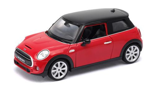 WELLY New Mini Hatch Red - 1:24 Scale