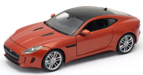 WELLY Jaguar F Type Orange - 1:24 Scale