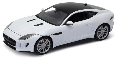 WELLY Jaguar F Type White - 1:24 Scale