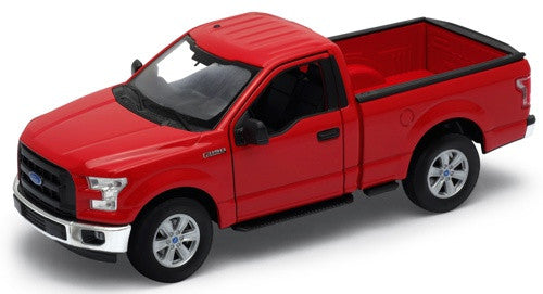 WELLY Ford F150 Cab Red - 1:24 Scale