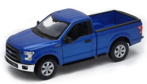 WELLY Ford F150 Cab Blue - 1:24 Scale
