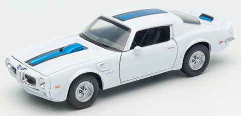 Welly Pontiac Firebird 1972 White
