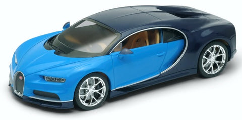 Welly Bugatti Chiron Blue