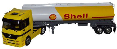 WELLY Mercedes Benz Shell Tanker - 1:32 Scale