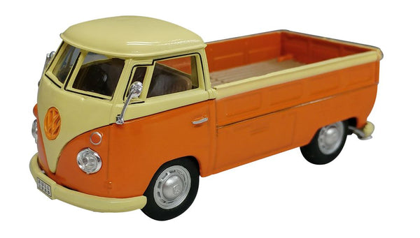 Cararama VW T1 Pick Up Orange