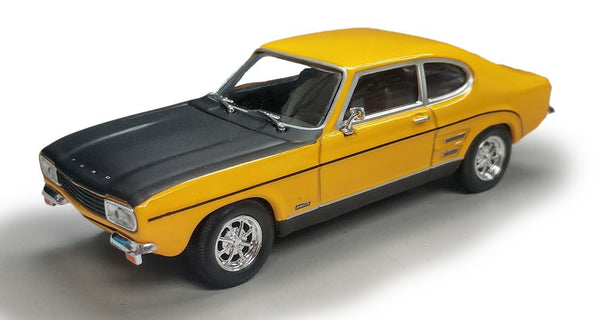 Cararama Ford Capri RS Yellow